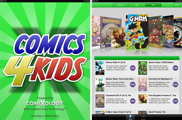 Comics4kidsapp